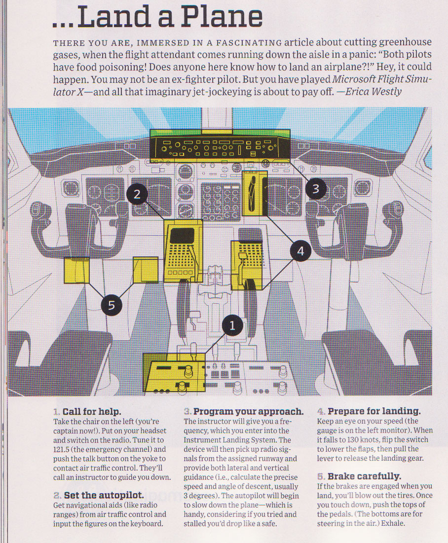 How to Land an Airplane.. According to Wired Mag. – ✈ Fly With Blake